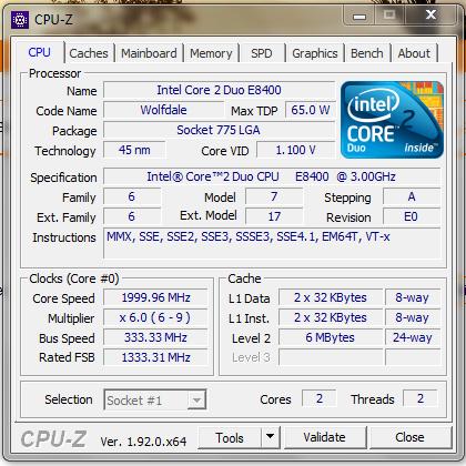 CPU-Z CPUZ CPU Z PC Version Window
