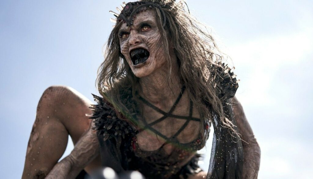 Athena Perample as Zombie Queen (Alpha Zombie Queen) in Zack Snyder's Army of the Dead 2021