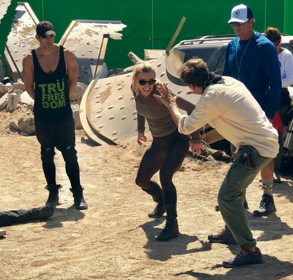 Athena Perample's Behind the Scenes & Stunts of Zack Snyder's Army of the Dead Movie