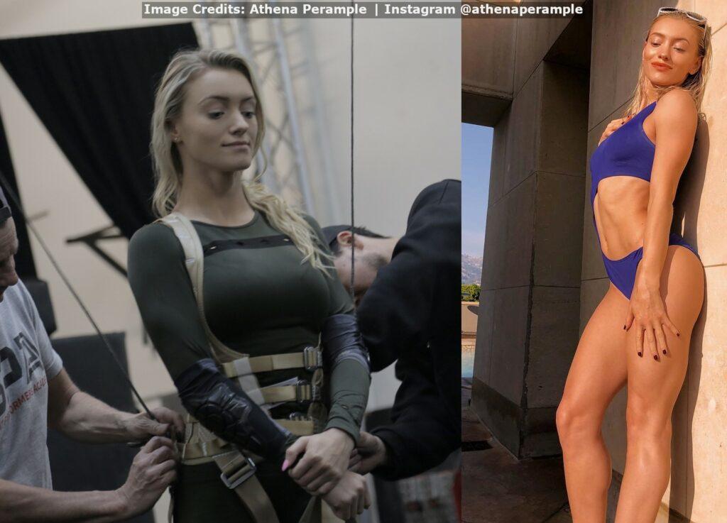 Hot & Sexy Professional Stuntwoman Athena Perample