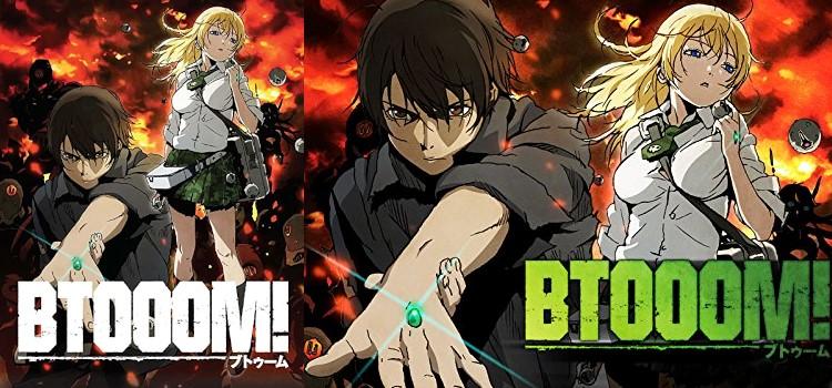 Butūmu! 2012, Btooom! (2012). Drama, Science fiction, Thriller, Romance Anime