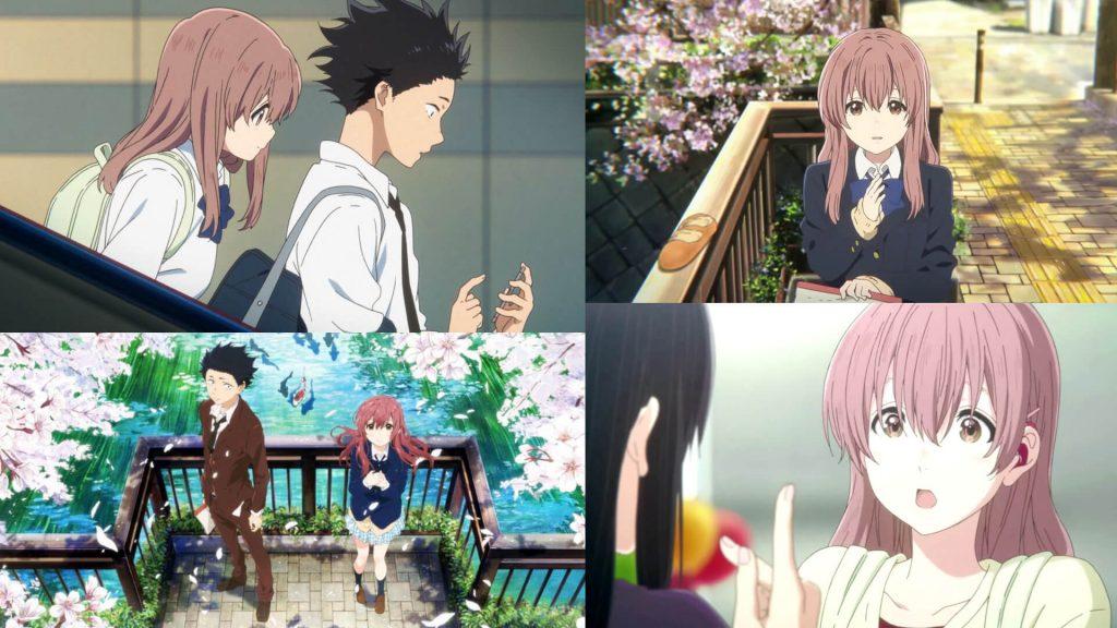 Koe no Katachi 2016 - Best Anime Romance Movies. A Silent Voice (2016)