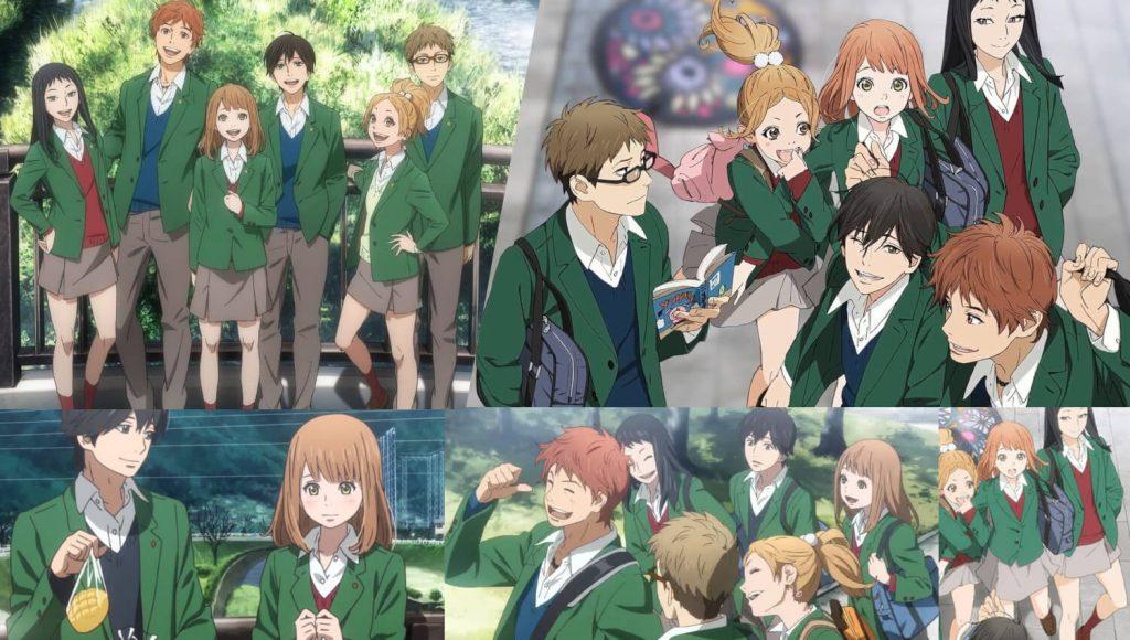 Orange: Future (2016) Anime. Nice College Girls Romance