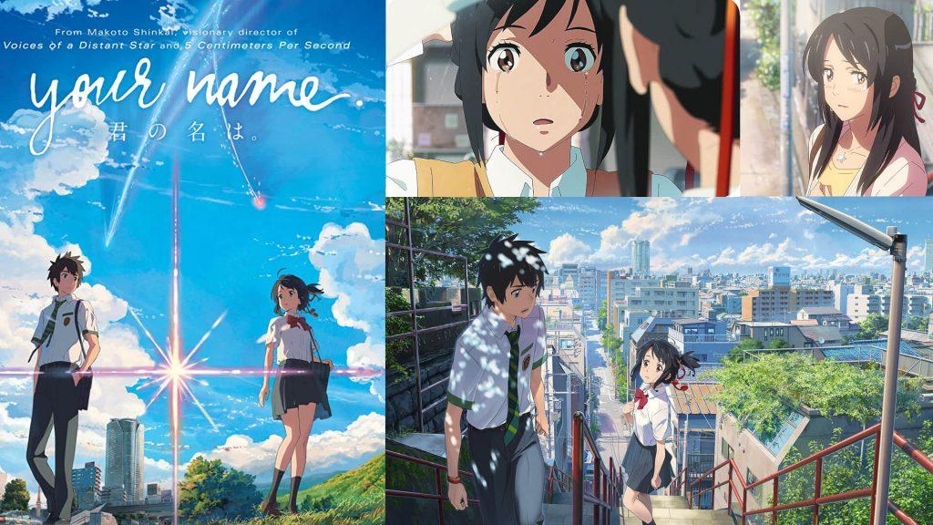 Kimi no Na Wa (2016) AKA Your Name 2016 Best Romance Anime List