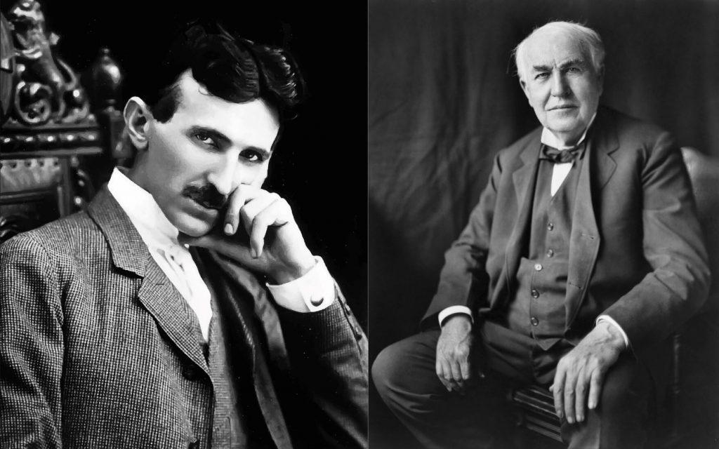 Nikola Tesla and Thomas Edison Relationship. Story of Nikola Tesla vs Thomas Edison