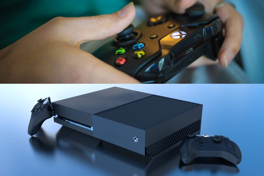 Xbox One Console and Controllers