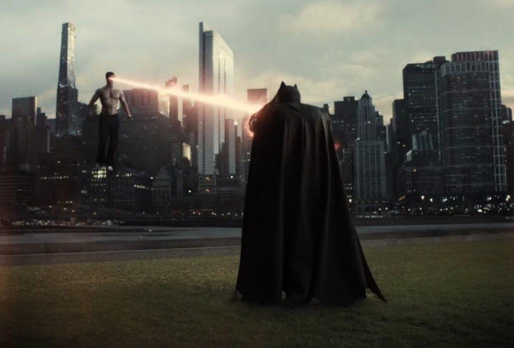 Zack Snyder's Justice League - Evil Superman's Heat Vision Attack to Batman, before Lois Lane arrive