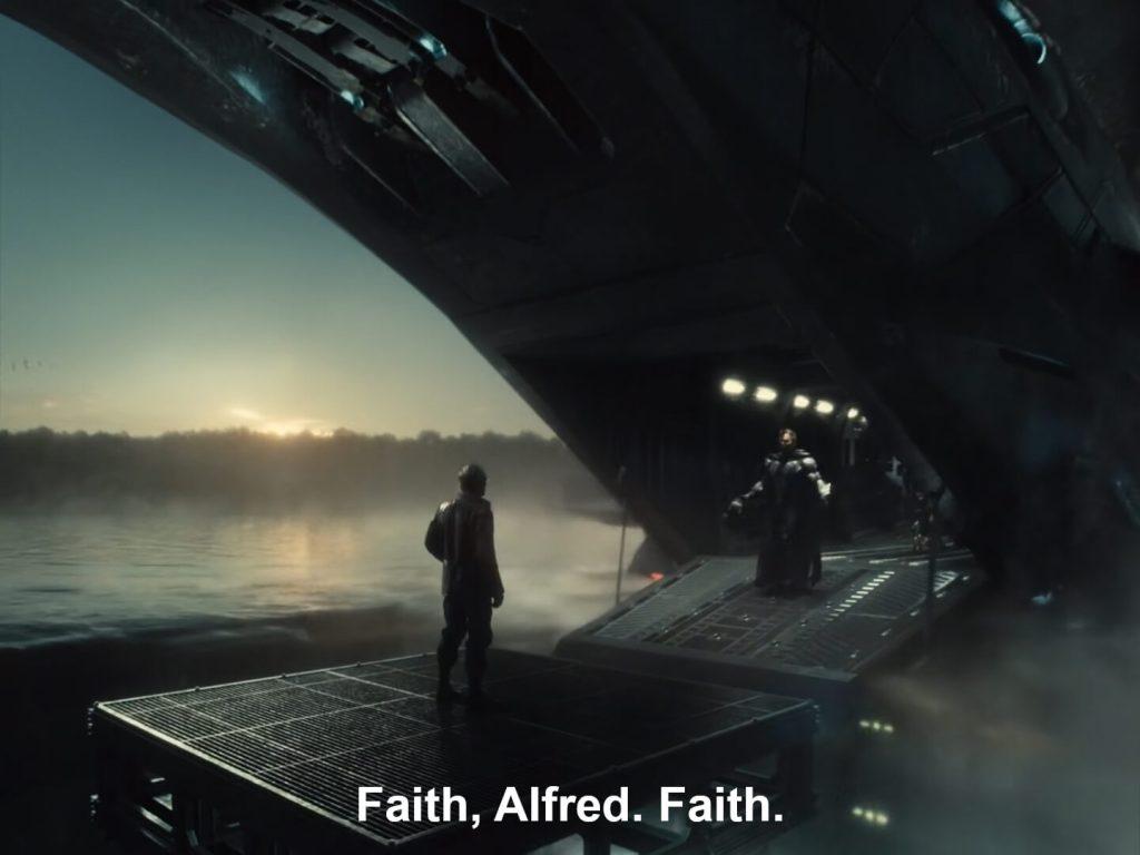 Zack Snyder's Justice League - Faith Alfred Faith Dialogue Scene